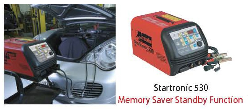 Battery Charger and Starter - StarTronic 530