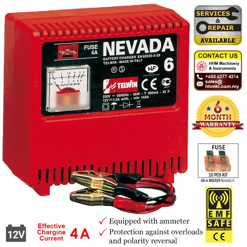 Battery Charger Nevada 6