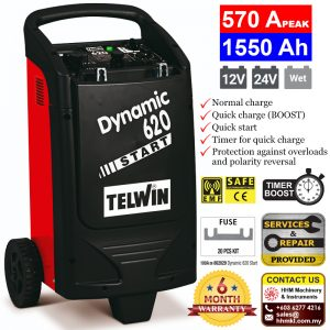 TELWIN Battery Charger and Starter Dynamic 620 Start