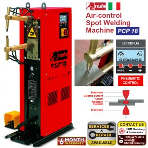 Air-control Spot Welding Machine PCP 18 LCD