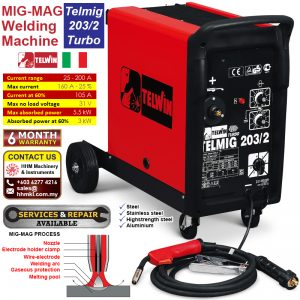 MIG-MAG Welding Machine – Telmig 203/2 Turbo