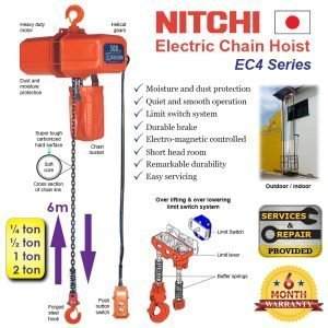NITCHI Electric Chain Hoist EC4 Series