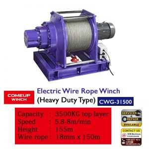 Comeup Heavy Duty Winch CWG-31500
