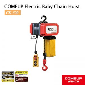 COMEUP Electric Baby Chain Hoist CK-500