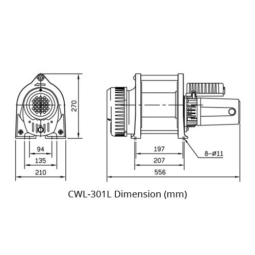 CWL Compact Winch