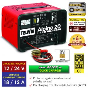 TELWIN Battery Charger Alpine 20 Boost​