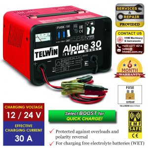 TELWIN Battery Charger Alpine 30 Boost​