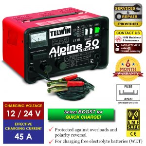 TELWIN Battery Charger Alpine 50 Boost​