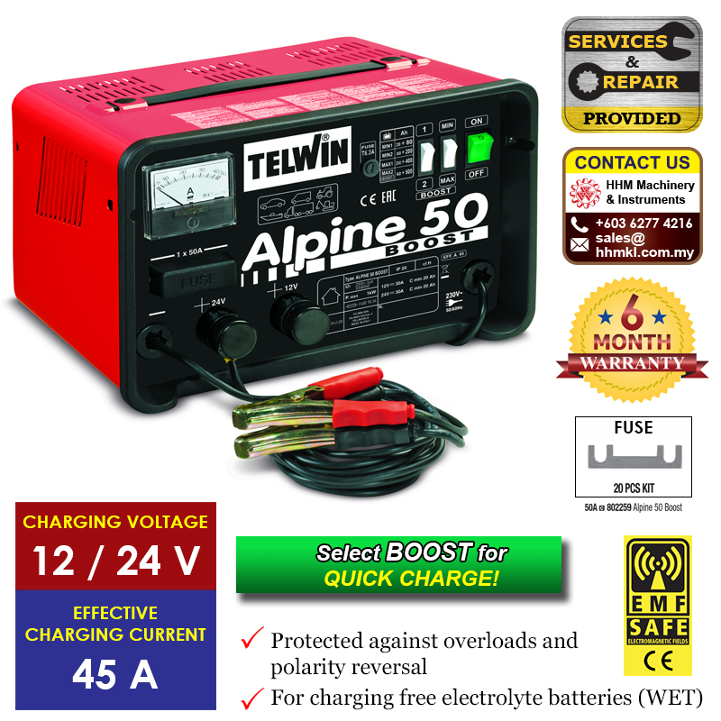 Battery Charger Alpine 50 Boost