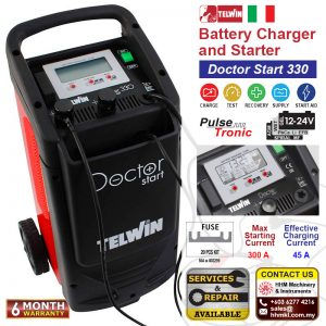 TELWIN Battery Charger and Starter – Doctor Start 330