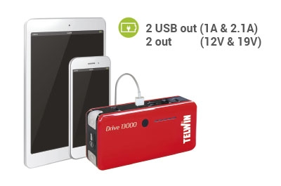 Portable Jump Starter and Power Bank Drive 13000