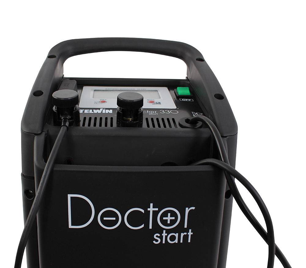 Battery Charger and Starter - Doctor Start 330 e