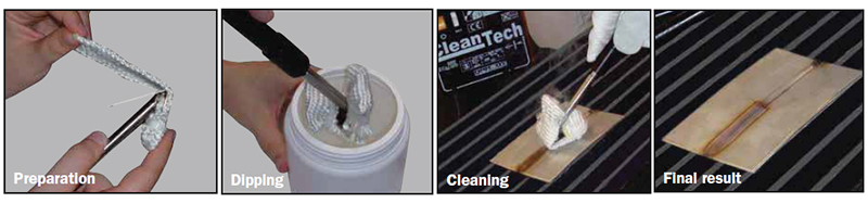 TELWIN Welding Mark Cleaning Kit - Cleantech 100