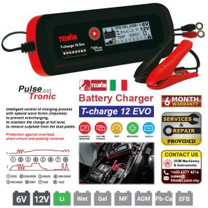 TELWIN Battery Charger T-charge 12 EVO