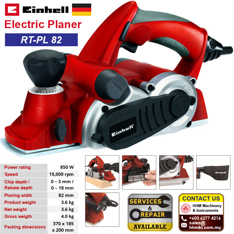 EINHELL Electric Planer RT-PL 82