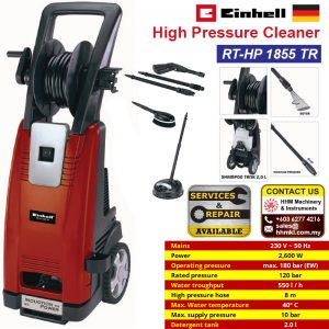 EINHELL High Pressure Cleaner RT-HP 1855 TR