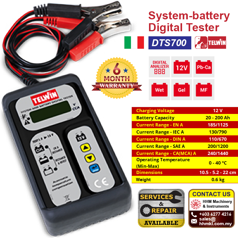 TELWIN System-battery Digital Tester DTS700
