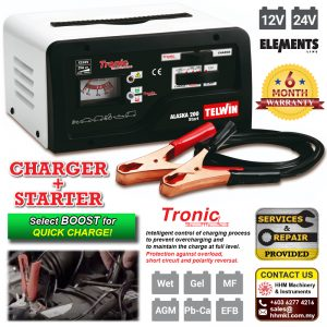 TELWIN Battery Charger and Starter Alaska 200 Start
