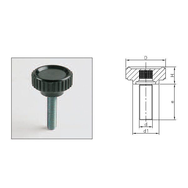 Knobs 1195T (LGN T With Threaded Stud)