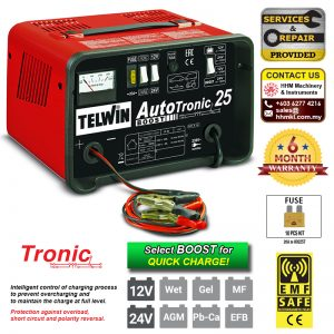TELWIN Battery Charger Autotronic 25 Boost