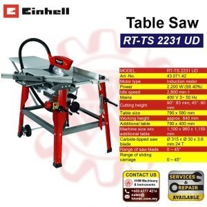 EINHELL Table Saw RT-TS 2231 UD