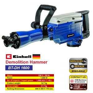 Demolition Hammer: BT-DH 1600