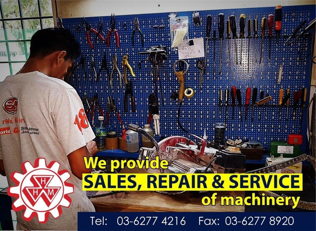 SALES, REPAIR & SERVICE