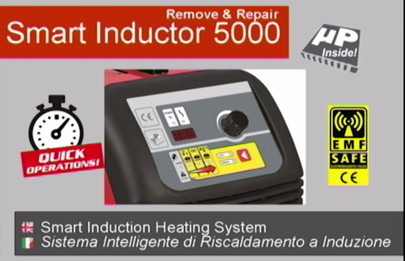 Induction Heating System: Smart Inductor 5000 Deluxe