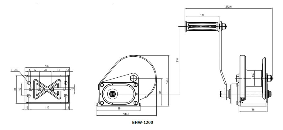 Drawing BHW-1200