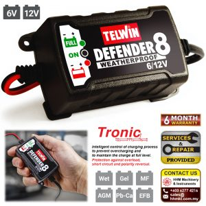 TELWIN Battery Charger Defender 8