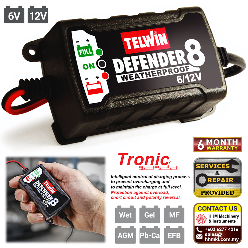 Battery Charger Defender 8