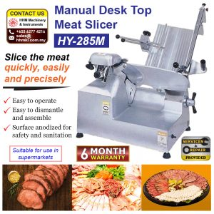 Manual Desk Top Meat Slicer HY-285M