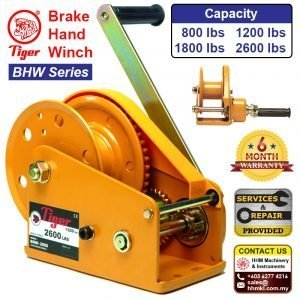 TIGER Brake Hand Winch BHW Series