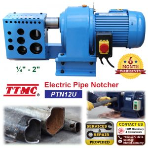 TTMC Electric Pipe Notcher PTN12U