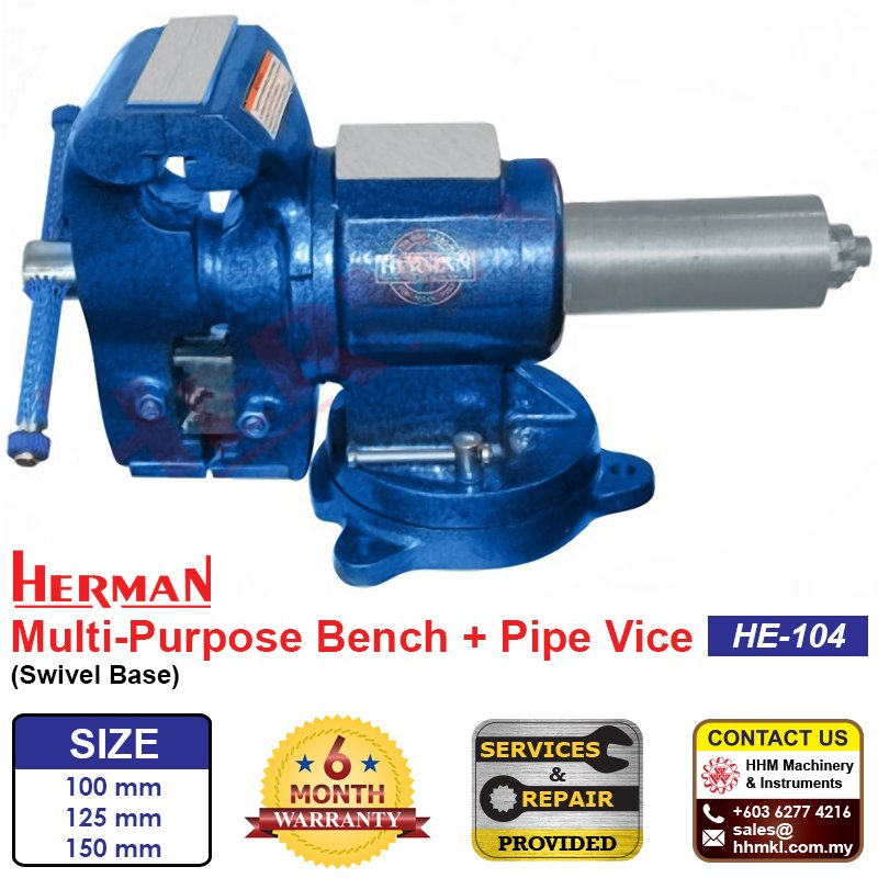 Multi-Purpose Bench + Pipe Vice HE-104