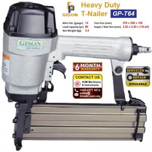 GISON Heavy Duty T-Nailer GP-T64