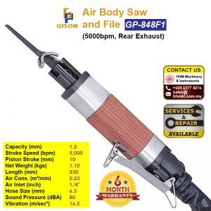 GISON Air Body Saw and File (5000bpm, Rear Exhaust) GP-848F1