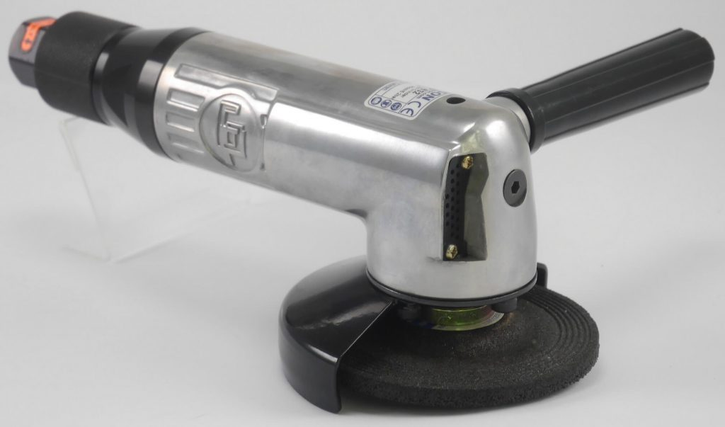 GISON 4 inch Air Angle Grinder Roll Throttle 12000RPM GP-832 f