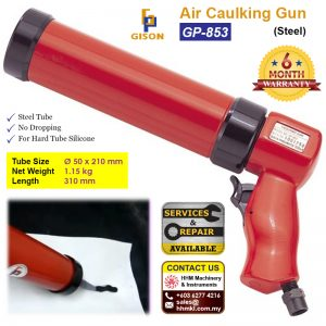 Air Caulking Gun (Steel) GP-853