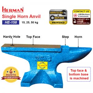 Single Horn Anvil HE-158