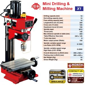 Mini Drilling & Milling Machine X1