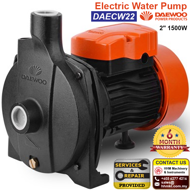 "DAEWOO Electric Water Pump 2"" 1500W DAECW22"