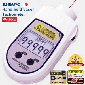 Hand-held Laser Tachometer PH-200L