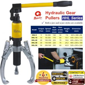 Hydraulic Gear Pullers HHL Series