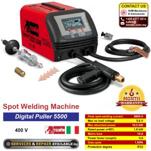 TELWIN Spot Welding Machine – Digital Puller 5500 400V
