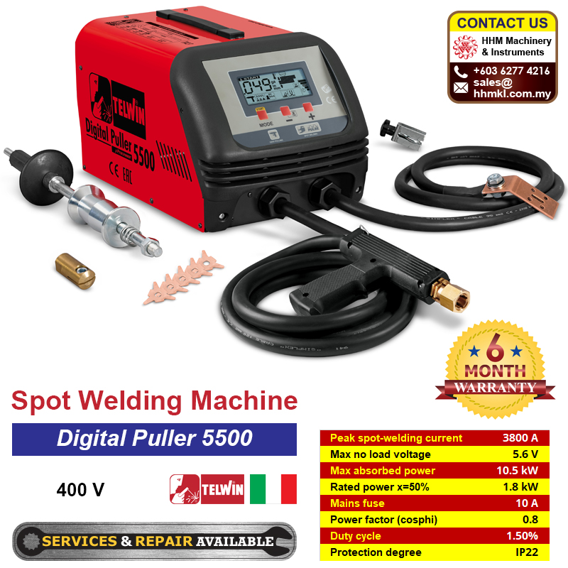 TELWIN Spot Welding Machine - Digital Puller 5500 400V