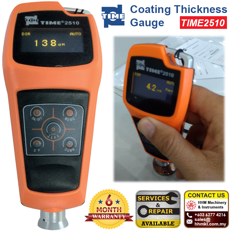 TIME Ferrous and Non-ferrous Coating Thickness Gauge TIME2510