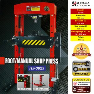 HANDIJACK Foot Manual Shop Press HJ-0823