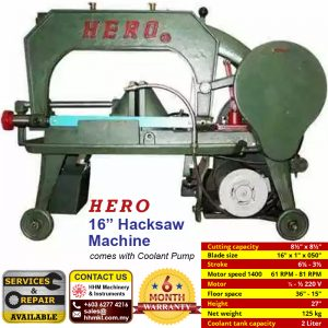 HERO 16″ Hacksaw Machine