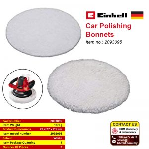 EINHELL Car Polishing Bonnets 2093095